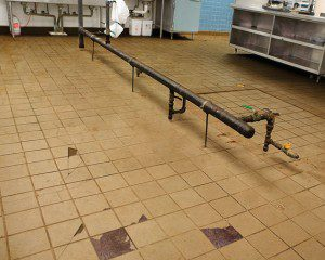 Ceramic Tile Has Been Used As Commercial Kitchen Flooring And In Baths